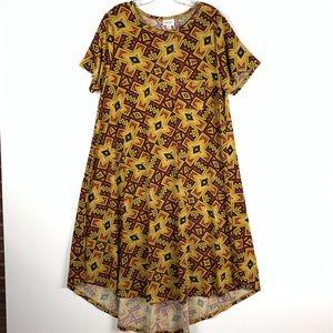 LuLaRoe Carly hi low swing dress